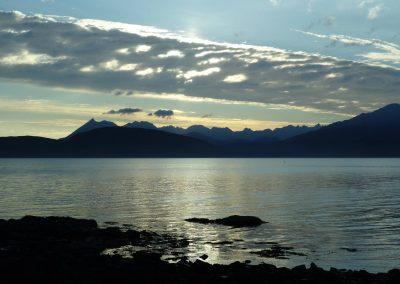 cuillin ridge and loch eishort