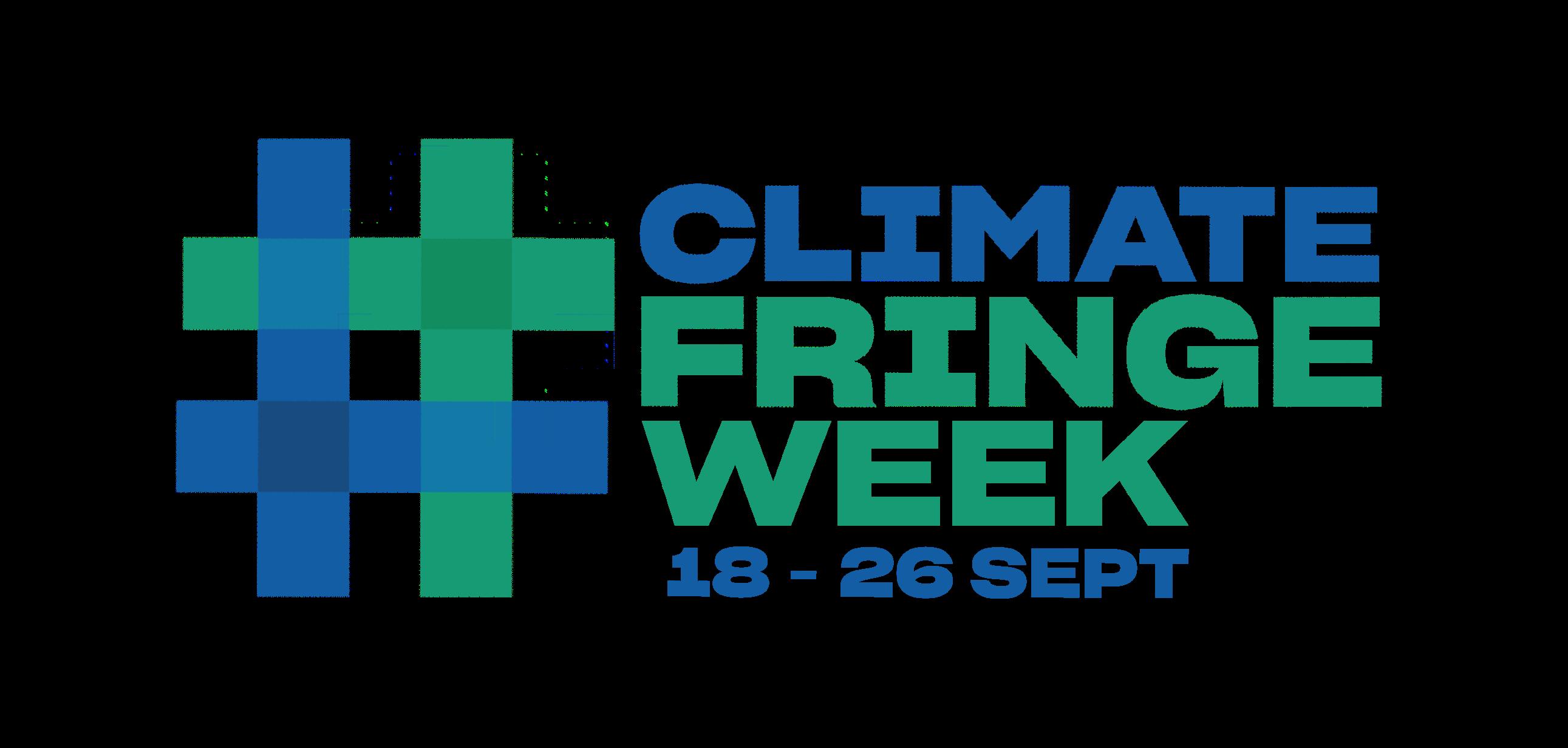 Climate fringe week logo